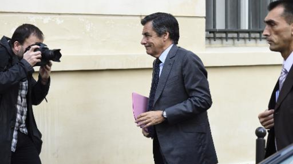 François Fillon le 1er octobre 2014 à Paris