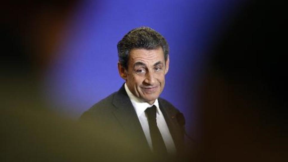 Nicolas Sarkozy à Paris, le 18 mars 2015