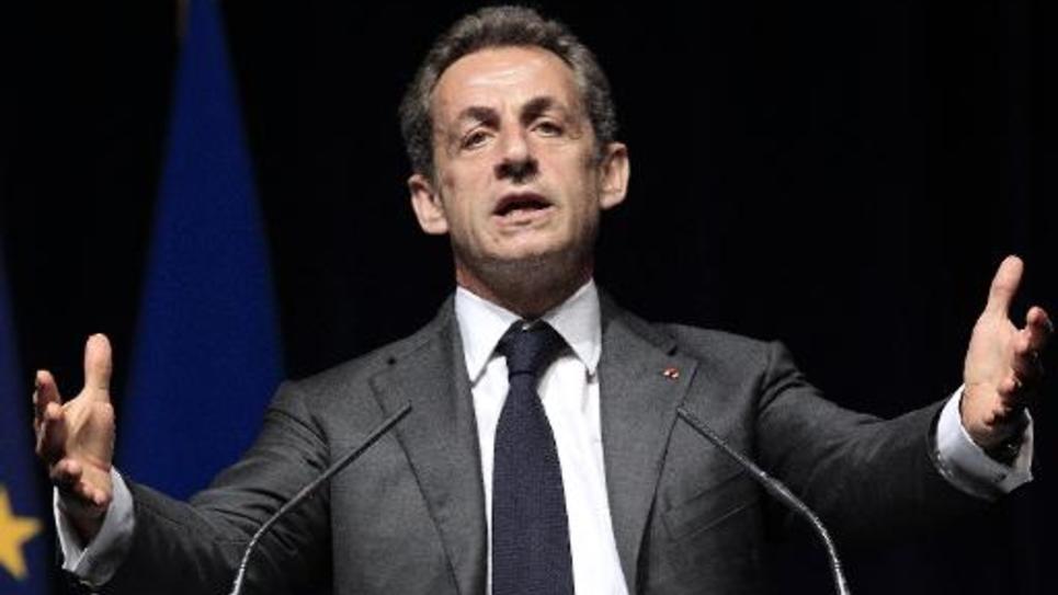 Nicolas Sarkozy président de l'UMP le 22 avril 2015 à Nice