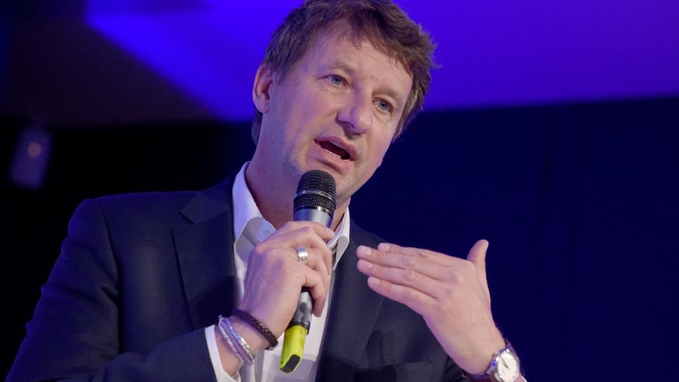 Yannick Jadot, la tête de liste EELV aux Européennes. Photo prise à Paris le 25 avril 2019.