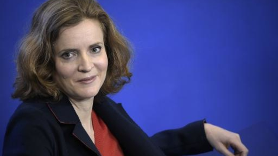 Nathalie Kosciusko-Morizet, vice-présidente déléguée de l'UMP, le 17 janvier 2015 au siège de l'UMP à Paris
