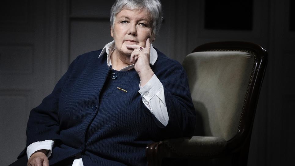 Jacqueline Gourault photographiée à Paris en juillet 2017