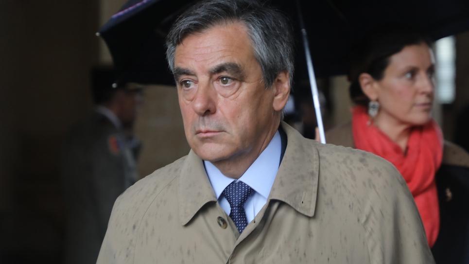 François Fillon le 28 mars 2018 à Paris
