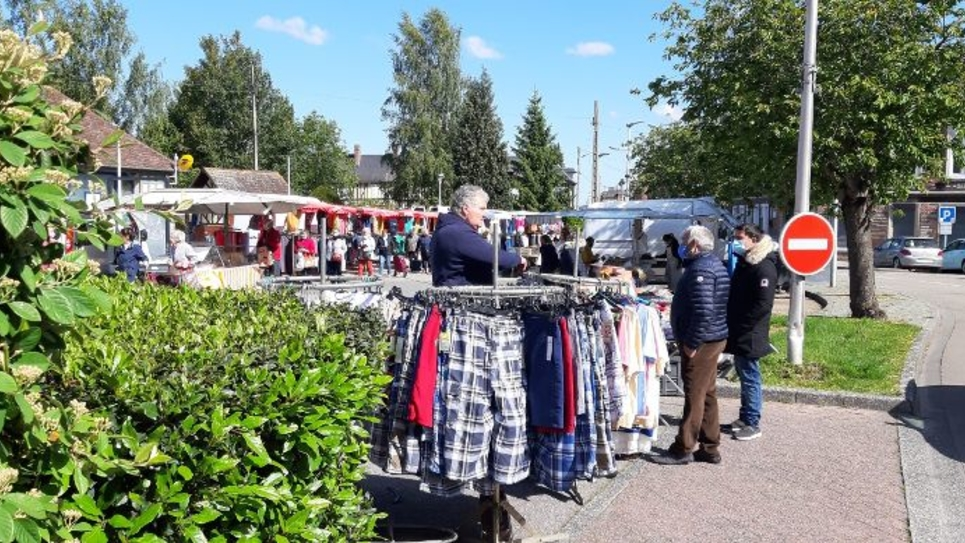 A Brionne, la réouverture du marché a donné le La du déconfinement