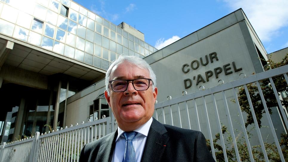 Le procureur général à Reims, Jean-Francois Bohnert, le 12 septembre 2019 devant la cour d'appel