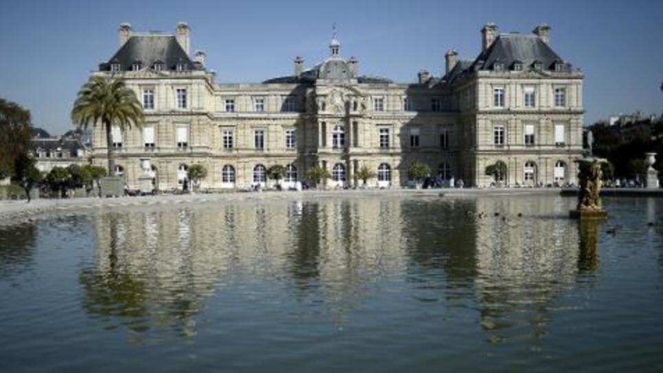 Le Palais du Luxembourg, siège du Sénat, à Paris