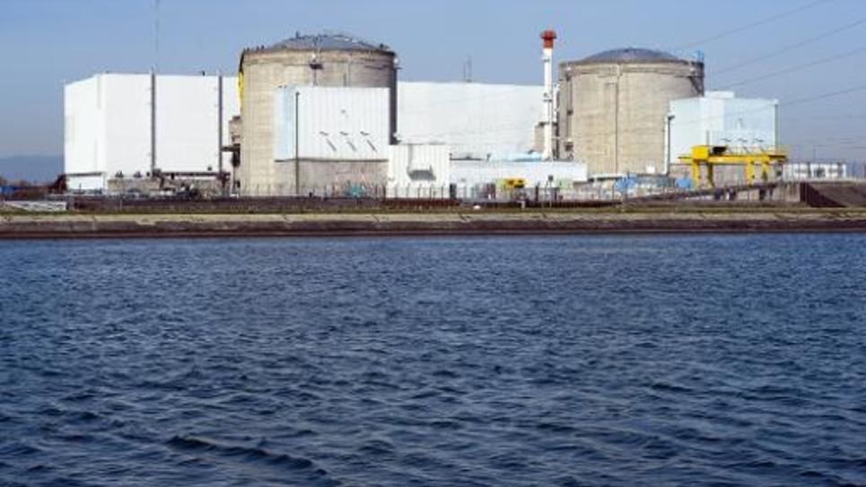 La centrale nucléraire de Fessenheim, en Alsace, la plus ancienne de France, le 18 mars 2014