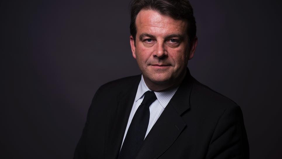 Le député des Hauts-de-Seine Thierry Solère, à Paris, le 23 mars 2016