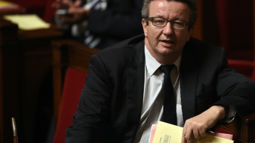 Christian Paul le 24 juin 2015 à l'Assemblée nationale à Paris