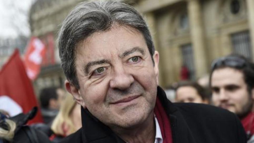 Jean-Luc Melenchon à Paris le 15 février 2015