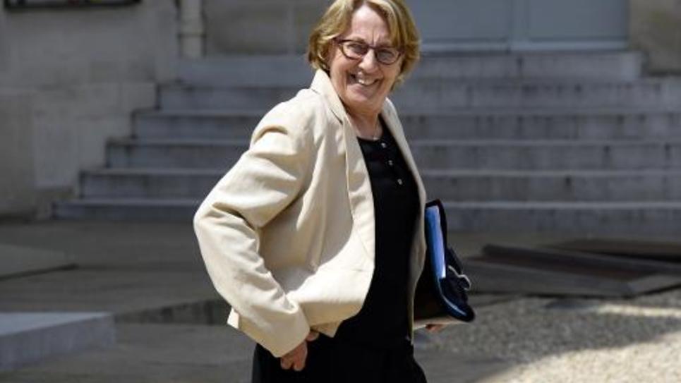 La ministre de la Réforme de l'Etat Marilyse Lebranchu, à l'Elysée, le 11 juin 2014