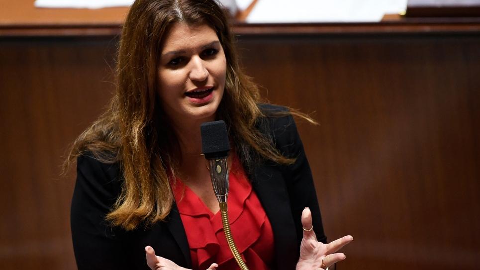 Marlène Shiappa à l'Assemblée nationale, le 6 novembre 2018 à Paris