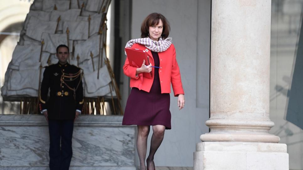 La ministre des Droits des femmes Laurence Rossignol le 1er février 2017 à l'Elysée