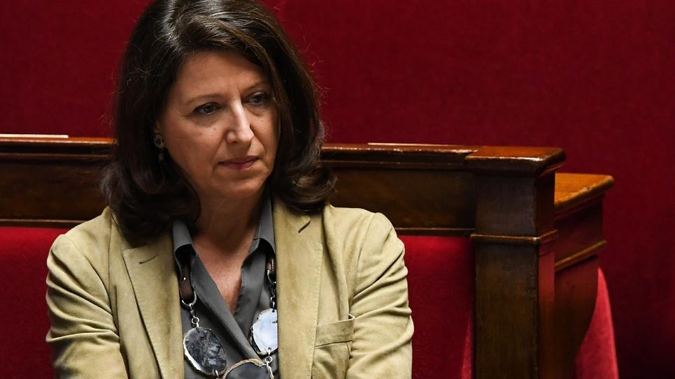 Agnes Buzyn à l'Assemblée le 31 janvier 2018