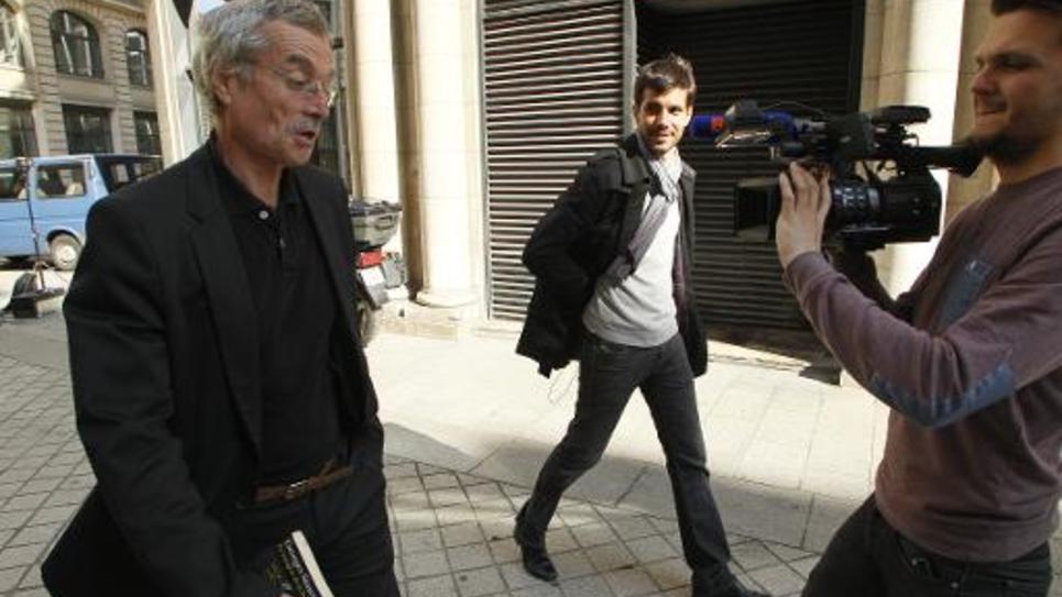 Le juge Renaud Van Ruymbeke, en charge de l'affaire Bygmalion quitte le pôle financier du tribunal de Paris le 4 octobre 2014