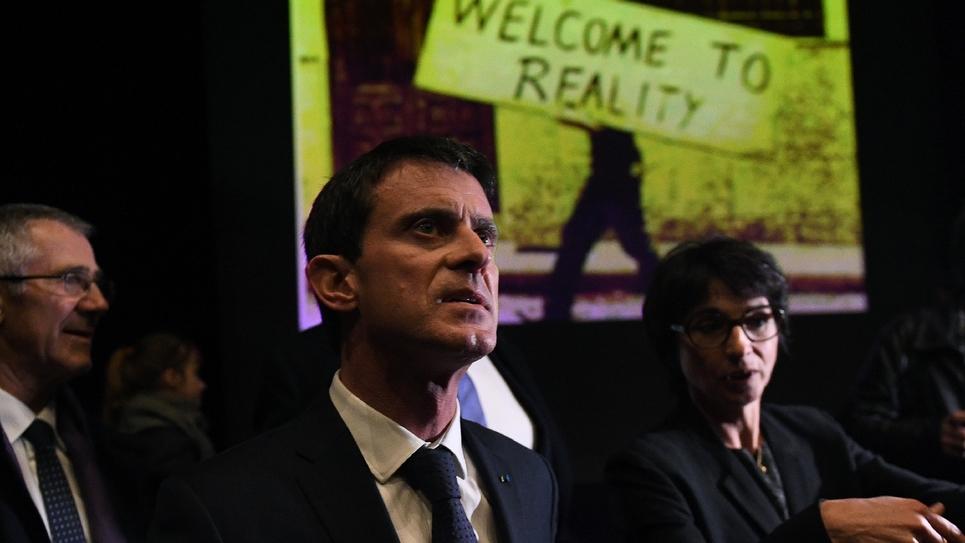 Manuel Valls, le 15 décembre 2016 à La Rochelle