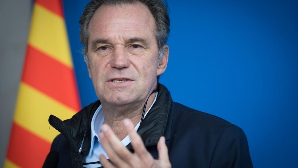Le président LR de la région Provence-Alpes-Côte-d'Azur Renaud Muselier à Gardanne, près de Marseille, le 23 novembre 2018