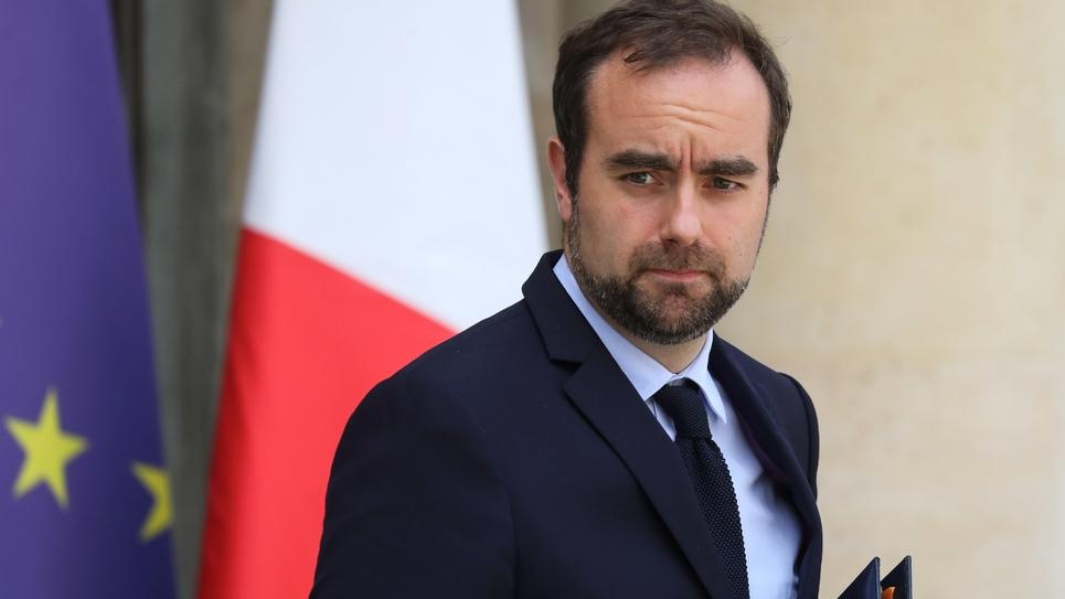 Le ministre chargé des Collectivités territoriales, Sébastien Lecornu, le 22 mai 2019 à Paris
