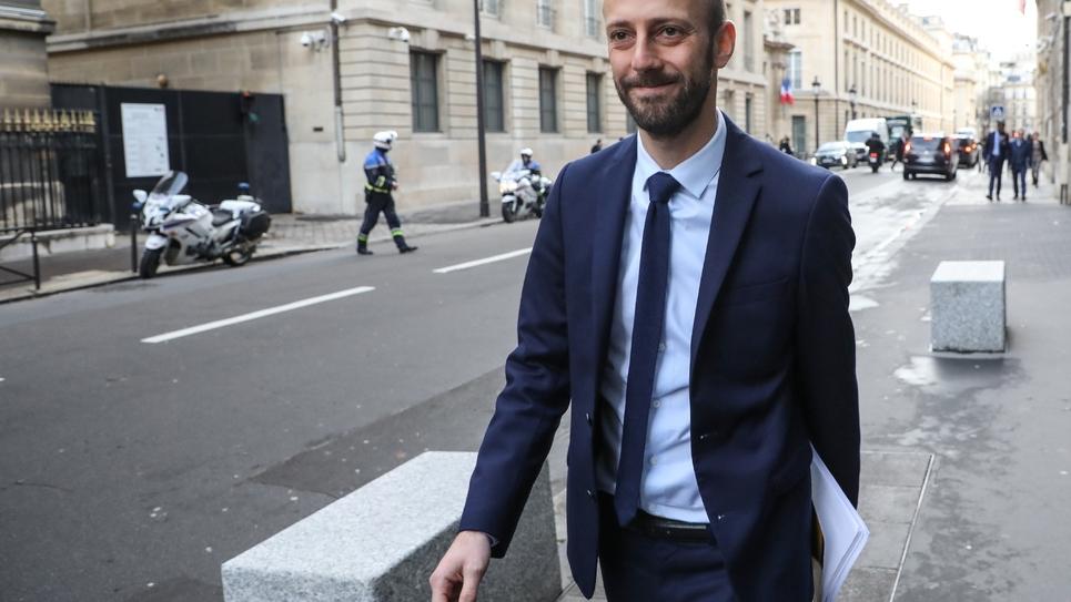 Le nouveau patron de LREM Stanislas Guerini à Paris, le 4 décembre 2018