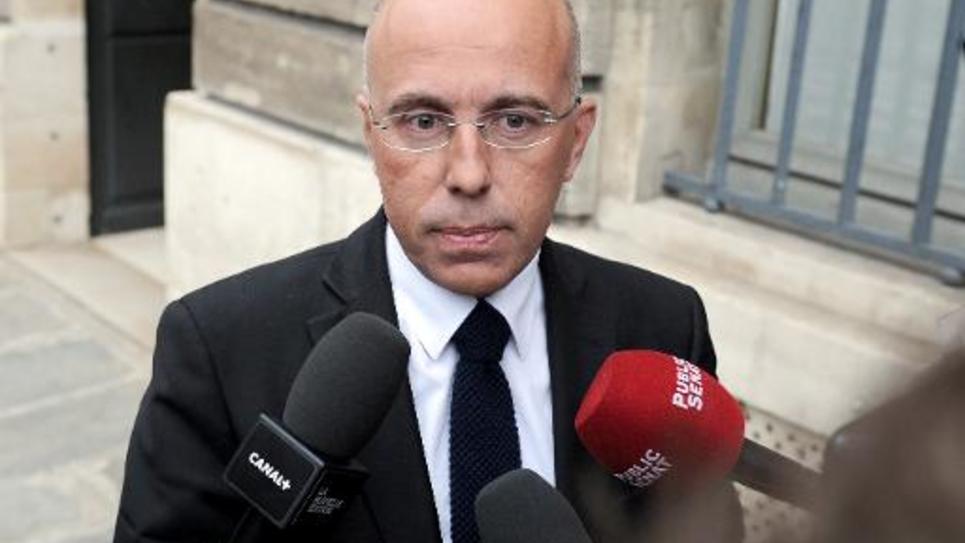 Eric Ciotti le 27 mai 2014 à l'Assemblée nationale à Paris
