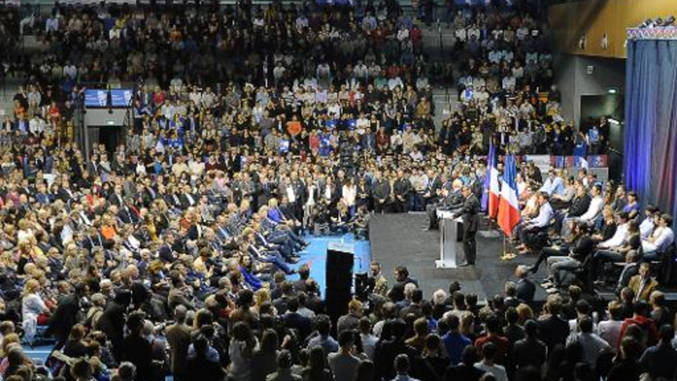 Meeting de Nicolas Sarkozy le 28 octobre 2014 à Marseille