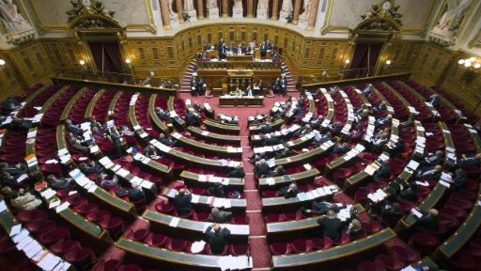 Vue du Sénat le 13 mai 2012 à Paris