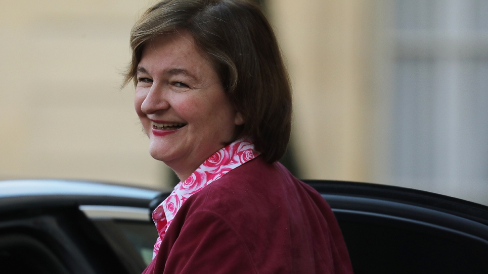Nathalie Loiseau, le 18 mars 2019 à l'Elysée, à Paris