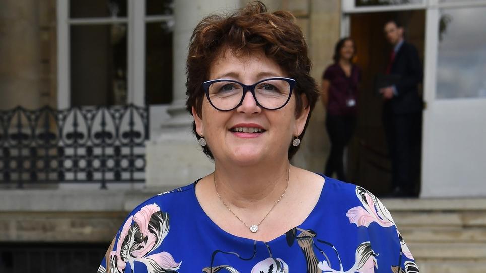 La députée des Pyrénées-Orientales LREM Laurence Gayte, le 23 juin 2017 à l'Assemblée nationale