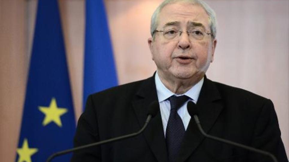Le président PS de la région Ile-de-France Jean-Paul Huchon, le 16 février 2015 à Paris