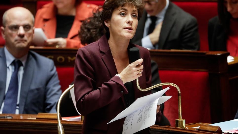 Christelle Dubos, secrétaire d'État auprès de la ministre de la Santé et des Solidarités, à l'Assemblée nationale le 13 novembre 2018