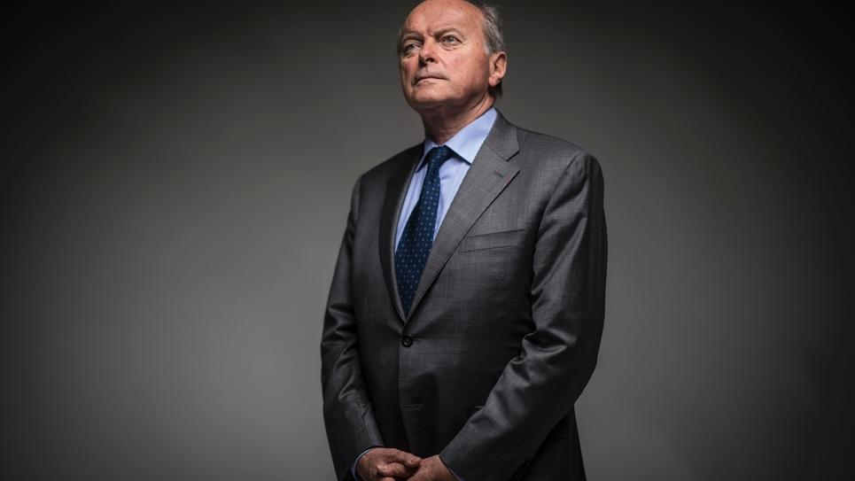 Le Défenseur des droits Jacques Toubon le 8 juillet 2016 à Paris