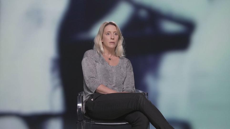 Andréa Bescond, victime de pédophilie.