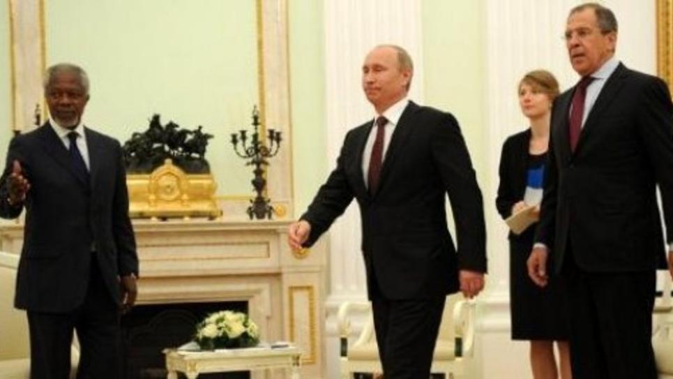 Annan, Poutine et Pavlov