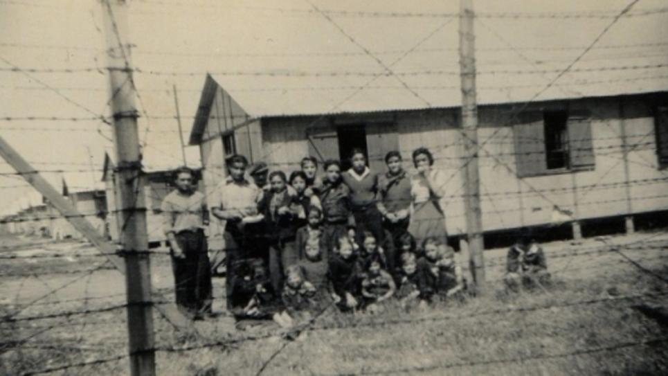 camps d'internement de tsigane
