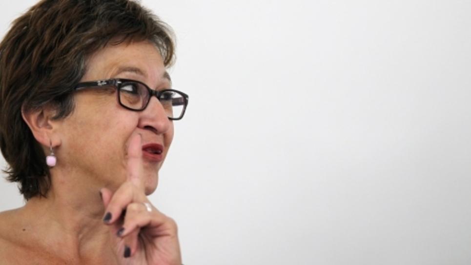 Eliane Assassi, présidente du groupe communiste au Sénat