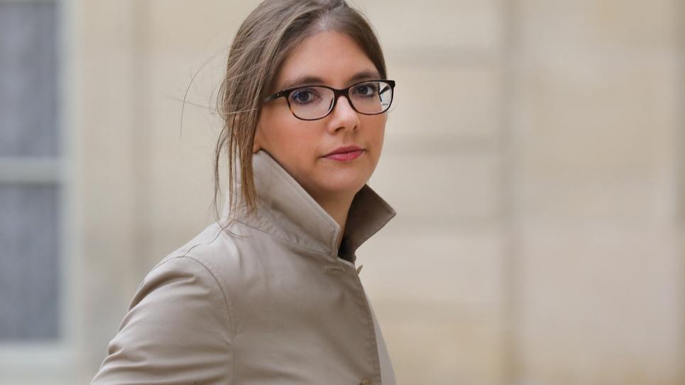Aurore Bergé le 25 novembre 2017 à Paris