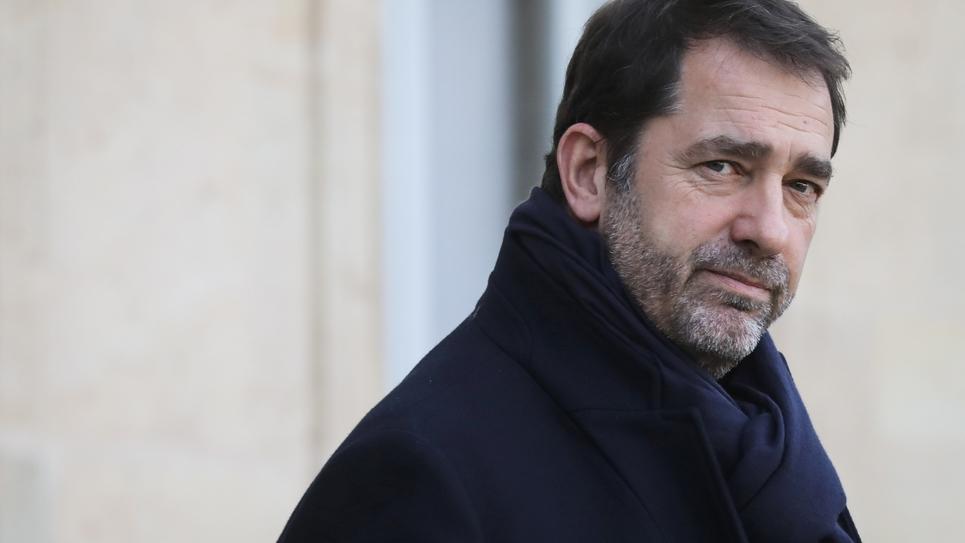 Le ministre de l'Intérieur Christophe Castaner à l'Elysée, le 16 janvier 2019