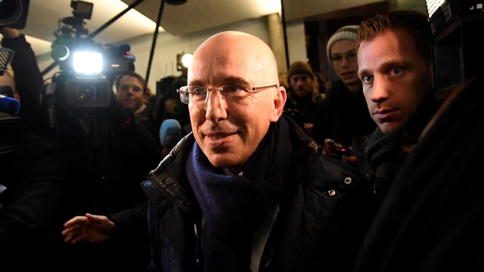Eric Ciotti le 29 novembre 2016 à Paris