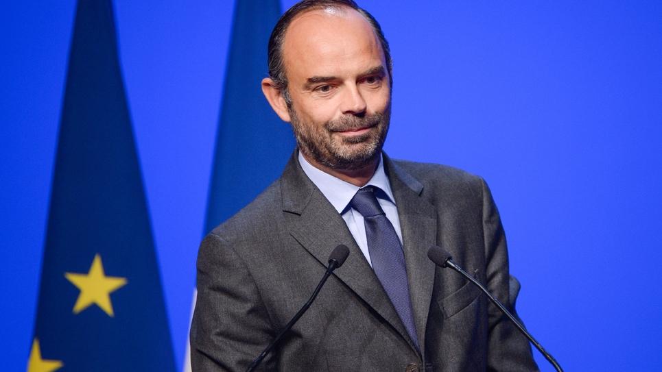Le Premier ministre français Edouard Philippe à Orléans, le 28 septembre 2017