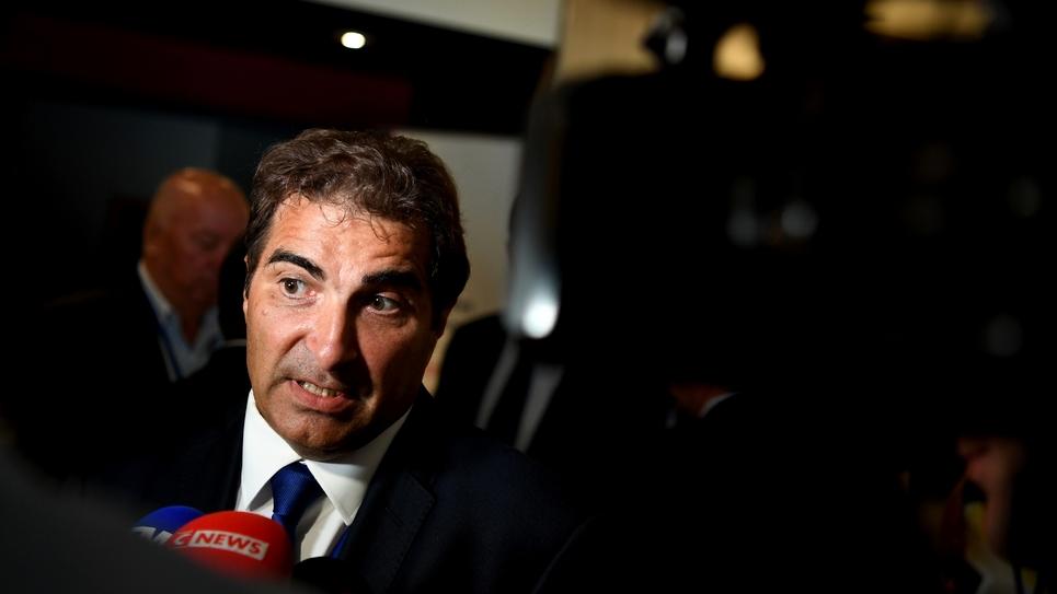 Le patron des députés LR, Christian Jacob, aux journées parlementaires des Républicains, le 20 septembre 2018 à Divonne-les-Bains