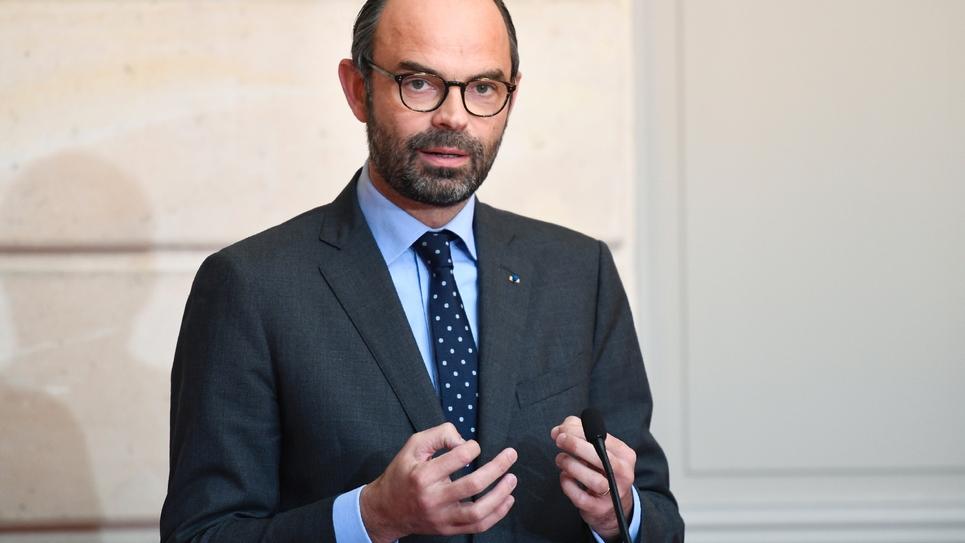 Le Premier ministre Edouard Philippe à l'Elysée, le 27 novembre 2017