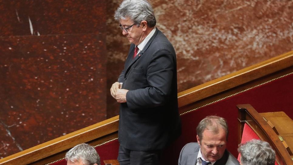 Jean-Luc Mélenchon le 5 juin 2019 à l'Assemblée nationale