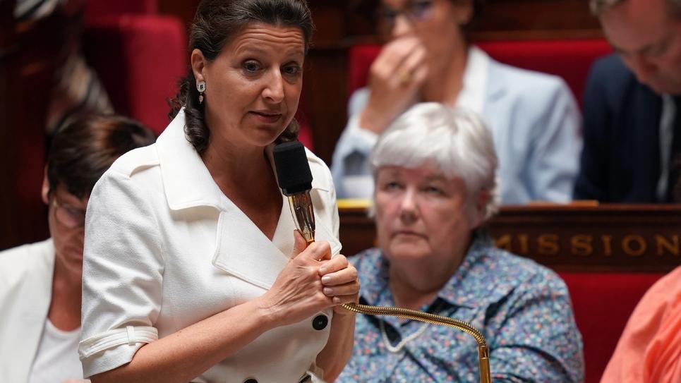 La ministre de la Santé Agnès Buzyn, le 19 juin 2019 à l'Assemblée nationale à Paris