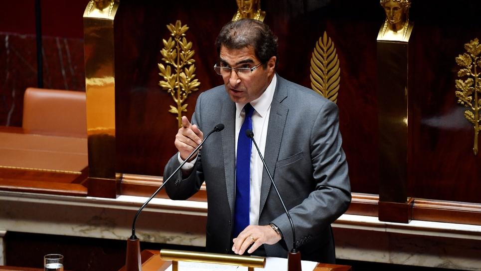 Christian Jacob à l'Assemblée nationale, le 31 juillet 2018