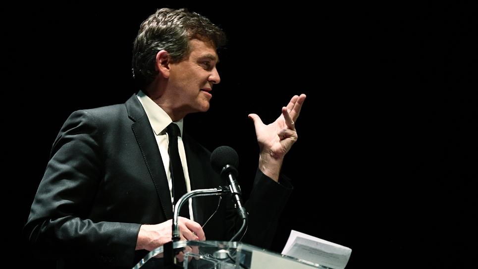 L'ancien ministre de l'Economie Arnaud Montebourg, le 9 janvier 2017 à Paris