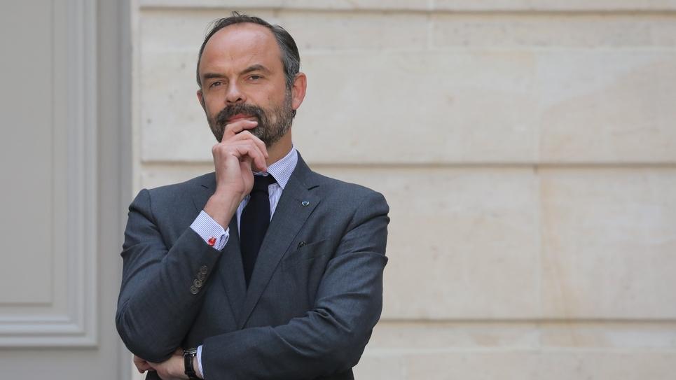 Edouard Philippe le 23 mai 2019 à l'Elysée, à Paris