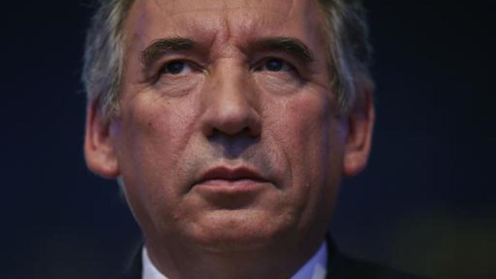 François Bayrou le 18 mai 2014 à La Plaine Saint Denis