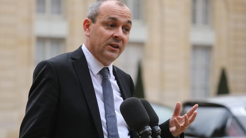 """Laurent Berger, le secrétaire général de la CFDT, avait souhaité que la prime de fin d'année accordée par les entreprises soit """"obligatoire"""", et non sur une base volontaire, le 10 décembre 2018 à Paris"""
