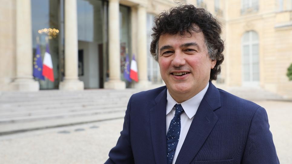 L'urgentiste Patrick Pelloux à Paris, le 18 septembre 2018