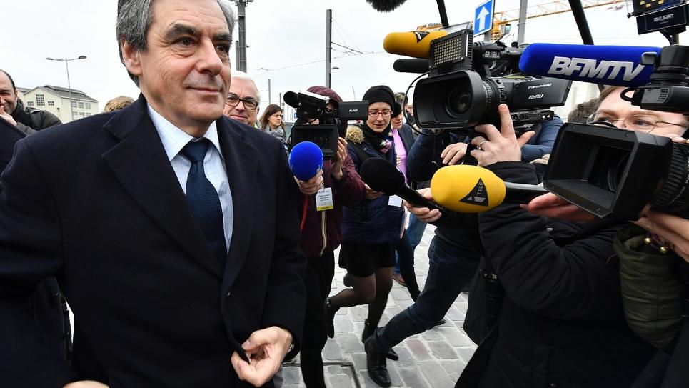 François Fillon le 25 janvier 2017 à Bordeaux
